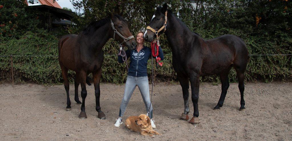 Naturheilkunde für Hunde und Pferde: Tierheilpraktikerin und Tier-Osteopathin Ina Wattenberg